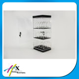 Transparent Acrylic Cabinet Watch Exhibition Stand
