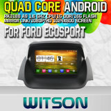 Witson S160 Car DVD GPS Player for Ford Ecosport with Rk3188 Quad Core HD 1024X600 Screen 16GB Flash 1080P WiFi 3G Front DVR DVB-T Mirror-Link Pip (W2-M232)