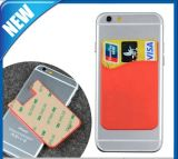 Silicone Adhesive Credit ID Card Holder / Pouch Sleeve Holder