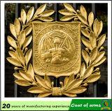 Gold Plated 3D Metal Emblem