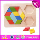 2015 Educational Kids Wooden Match Block Toy, Colorful Collection of Wooden Block Toy, Intelligence Child Cheap Block Toy W13e052