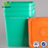 20 L Rectangular Bucket Ice Bucket Colorful Plastic Pail for Packaging