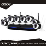 1MP 8CH Waterproof Wireless IR Camera P2p NVR Security System CCTV Kits