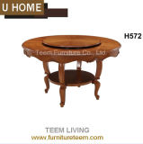 2015 Classical Style Dining Table for Home Furniture