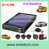 4 Channel Mobile Truck DVR and Camera CCTV Security Monitoring System GPS