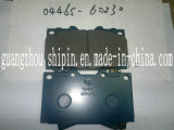 OEM 04465-60230 High Quality Supplier Brake Pad for Toyota