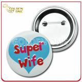 Promotion Gift Cheap Custom Full Color Printed Metal Button Badge