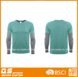 Men′s Long Sleeve Fit Sport T-Shirt