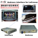 (13-16) Auto HD GPS Android Upgrade Touch Multimedia Video Interface for Buick Lacrosse, WiFi/Mirrorlink/Bt