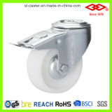 Swivel Bolt Hole with Brake Nylon Industrial Caster (G102-20D080X35S)