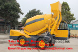 Self- Loading Concrete Mixer 3.5cbm Work Capacity 270 Degree Rotation