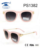 Popular Fashion Design Pink Sunglasses (PS1382)