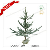 H2.6-5 Feet PE Home Decoration Artificial Snowing Christmas Tree