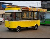 Electric Dining Car and Food Car as Moving Kitchen