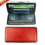 Aluminum Wallet with Credit Card Holder (JJ-A-CRD04-red)
