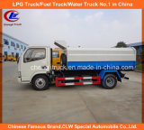 6 Wheels Dongfeng Waste Collector Truck Sealed Garbage Truck