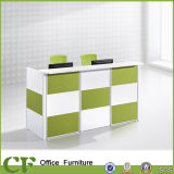 CF Furniture Office Front Reception Desk with 2 Seats