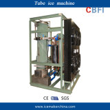 Food Production Process 28mm Ice Diameter Tube Ice Machine