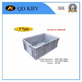 Piled Stackable Crate Storage Logistic Plastic Container