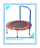 Mini High Quality Trampoline with Handrail for Gym