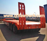 80t-100t Low Flatbed/Lowboy Semi Truck Trailer (HTC9406TDP)