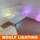 Rotating Plastic LED Lighting Bedroom Furniture