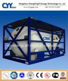 Cryogenic Liquid Nitrogen Oxygen Argon LPG ISO Tank Container