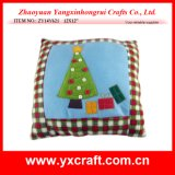 Christmas Decoration (ZY14Y621 12X12′′) Christmas Pillow Craft Christmas Tree Cushion