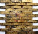 Arched Shape Copper Strip Mosaic Tile