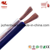 CCA 2.5mm 4mm Transparent Speaker Cable From China Cable Manufacturer