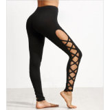 Black Apparel Sexy Leisure Leggings for Woman′s Clothes