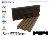 57*13mm New Technology Wood Plastic Composite WPC Plank