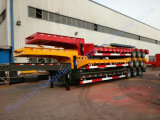 Tongya Hydraulic Lowbed Semi Trailer with 3 Axles