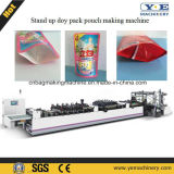 Single-Web Stand up Pouch with Zipper (2 lines) Bag Making Machine (ZD-600ZL)