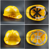 HDPE Helmet Hard Hat Heavy-Duty Helmet Six Point Fixing Safety Helmet (SH502)