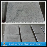 Polished Kashmir White Granite Floor Tiles for Kitchen and Bathroom