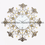Elegant Metal Craft Wall Clock for Decoration (MC-009)