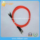 St Mulitimode 62.5/125 Om1 Duplex Fiber Optic Patch Cord