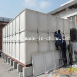 Sectional FRP Water Container Water Storage Filter FRP Water Treatment