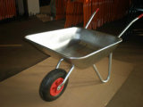 Wheelbarrow with Galvanized Barrow Wb5206, Handtruck