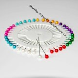 Wheel Packing 38mm Colors Pearl Plastic Quilting Pins with Round Head