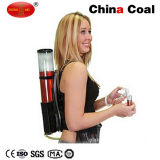Double Backpack Bar Drink Wine Dispenser with Ice Tube Cooling