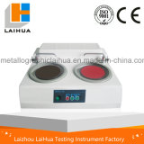 Lab Device of MP-2D Metallographic Grinding Polishing Machine Double Dish