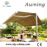 Garden Polyester Free Stand Double Sided Retractable Awning