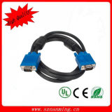 Nickel Plated Sifang Mold of VGA Cable, The Color Is Blue