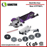 600W Multifunction Mini Cutting Saw Circular Saw Wood Cutting Tool