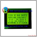 Better LCM Stn Yellow Green LCD Screen