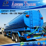 36000 Litres Gasoline Crude Oil Road Tanker Semi Trailer, Tri-Axle Water Tank Trailer for Tractor / Fuel Tank Trailer