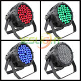 LED Stage PAR Lighting/3W*54PCS RGBW IP65 LED Stage PAR Can