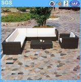 Poly Rattan Furniture Patio Corner Sofa Set